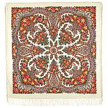 Павлопосадский платок Ладога 1727-18 (146х146 см), фото 4