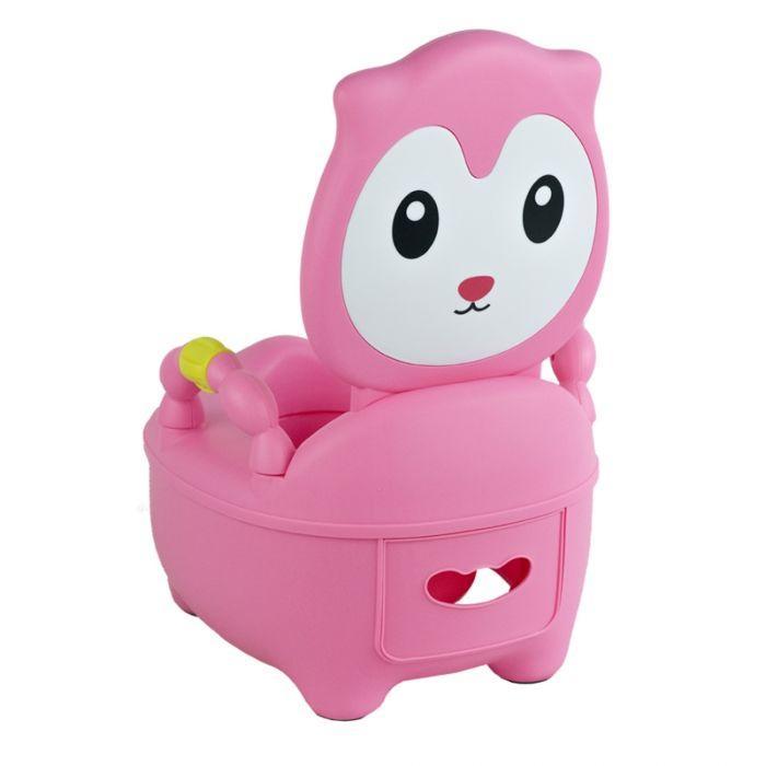 Детский горшок PITUSO КОТЕНОК Розовый PINK 36,5*31,5*46 см