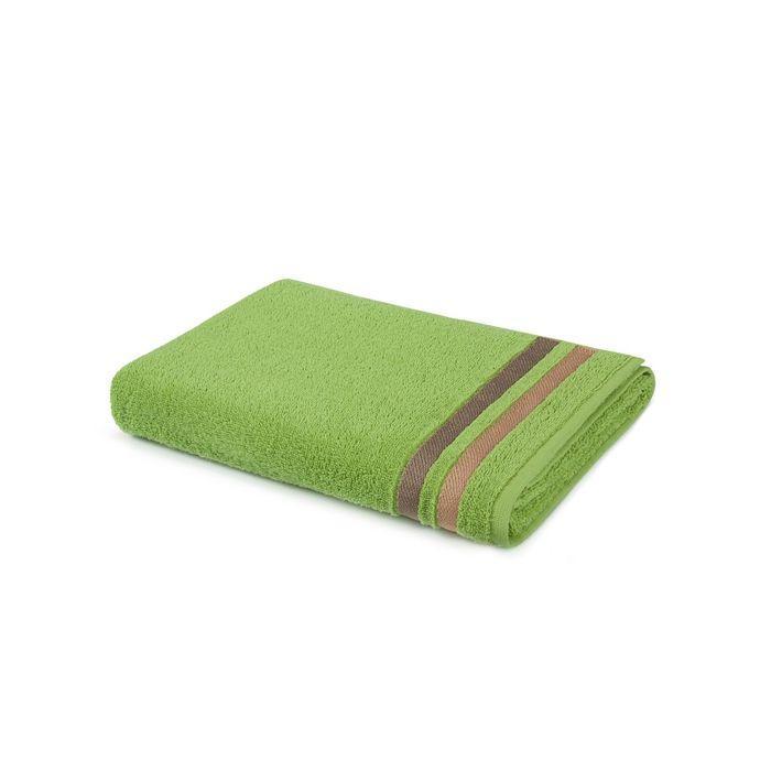 Полотенце, размер 40 × 70 см, зелёный702616