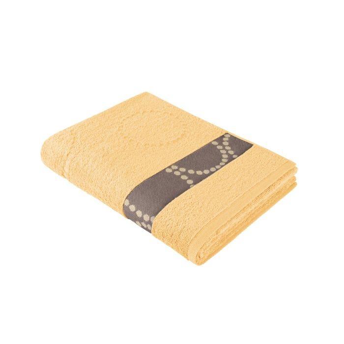 Полотенце, размер 35 × 70 см, жёлтый 707747