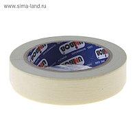 Клейкая лента UNIBOB малярная с индивидуальным стикером 25мм*40м, индивидуальная упаковка
