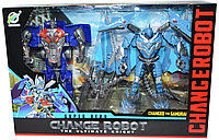 Немного помята!!! 1-38 Трансформер 2шт Chance Robot 25*3