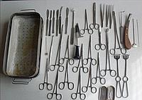 Набор медицинских инструментов поликлинический из 3-х мест (1990-1991 г.)