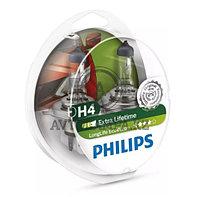 12342LLECOS2 H4 Philips LongLife EcoVision Штатная галогенная лампа
