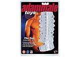 Открытая насадка на член Adam Male Toys™ The Tug CyberSkin® Stroker (только доставка), фото 3