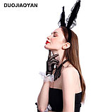 Ободок с ушками кролика, фото 2