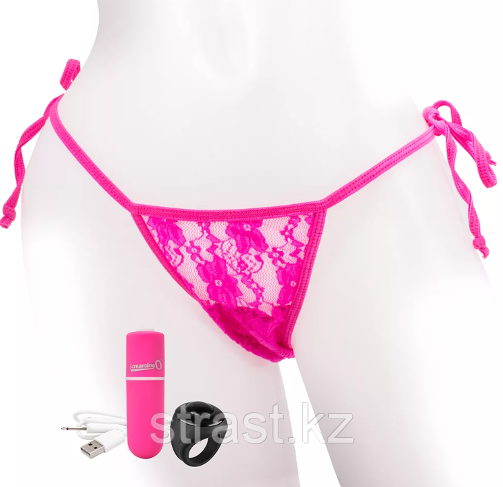 ВИБРОТРУСИКИ REMOTE CONTROL PANTY VIBE PINK (SCREAMING O)