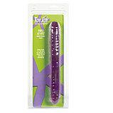 Гелевый фаллоимитатор NWICE AS NICE, фиолетовый, 29 см (Только доставка), фото 2