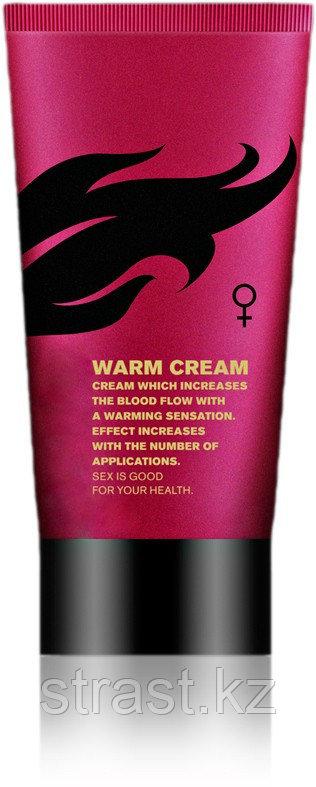 Возбуждающий крем для женщин Warm cream, 50 мл (только доставка)