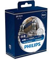 12342RVS2 H4 12V 60/55W Philips Racing Vision Штатная галогенная лампа