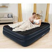 Двуспальная надувная кровать со встроенным насосом, Intex 64124