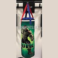 Боксерская мешок (груша) баннер, опилки, 70 см