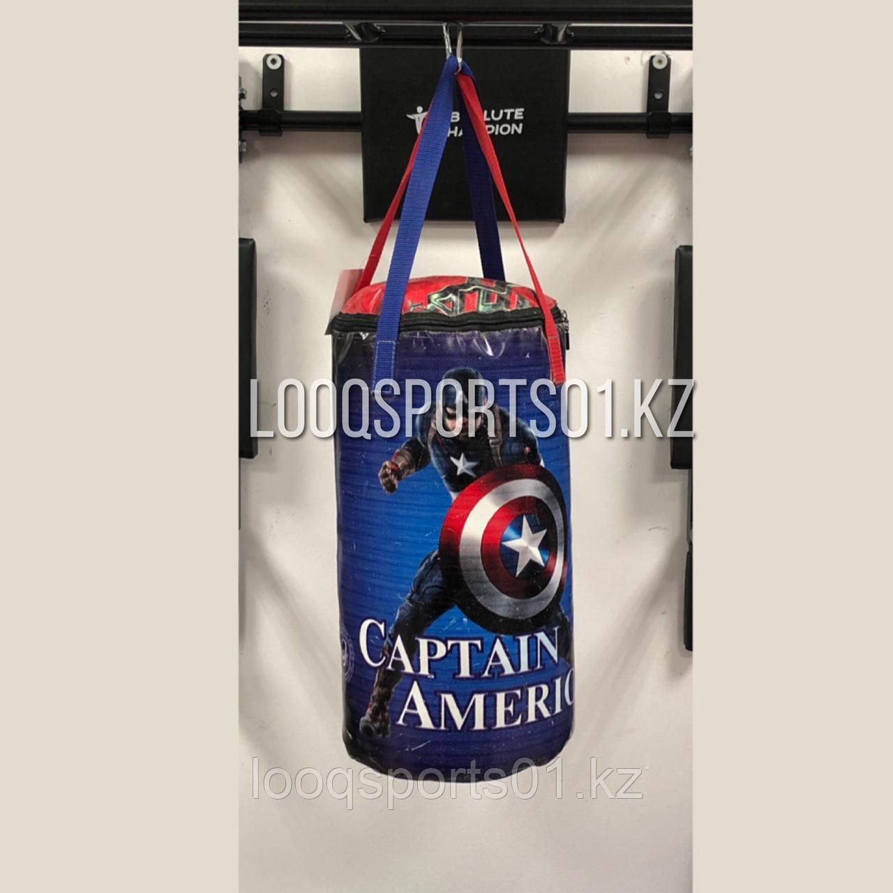Боксерская мешок (груша) баннер, опилки, 50 см