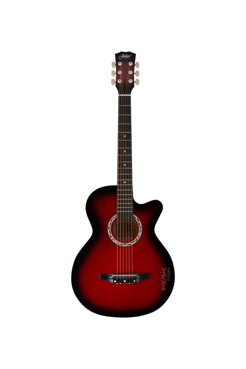 Гитара акустическая с вырезом 38 Joker 38C-10T RD