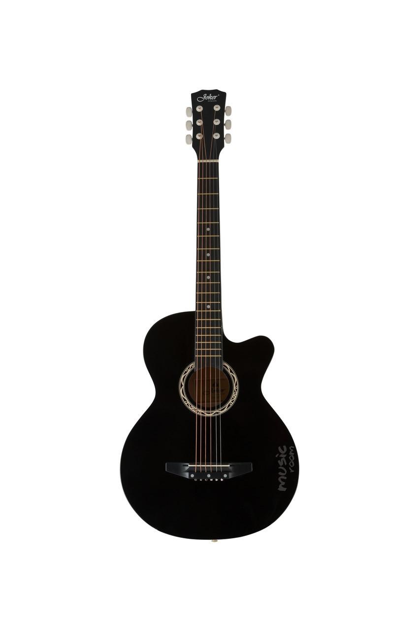Гитара акустическая с вырезом Joker 38C-10T BK