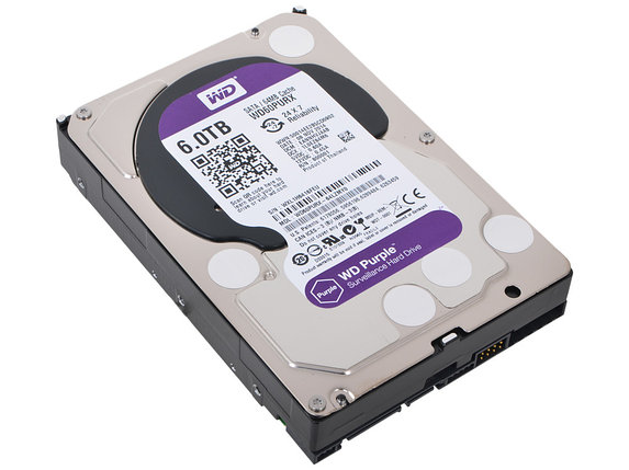 Жёсткий диск 6Tb Western Digital WD60PURX, фото 2
