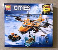 Конструктор Bela Cities 10994 Арктический вертолет