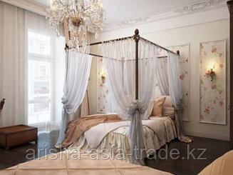Устройство балдахинов. Опоры для балдахинов. Текстиль. Кованые кровати.
