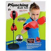 Боксерская груша punching ball set, фото 1