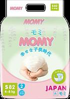 Подгузники Momy ( 4-8 кг)