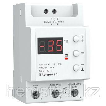 Терморегулятор для снегостаивания terneo sn, фото 2