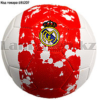 Футбольный мяч Реал Мадрид Real Madrid красно-белый