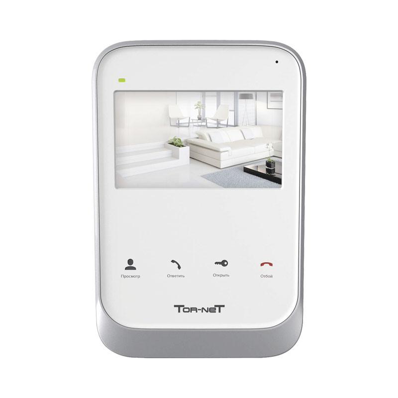 Монитор видеодомофона (белый) TR-26 MW  с SD картой