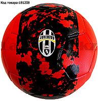 Футбольный мяч Ювентус Juventus красно-черный