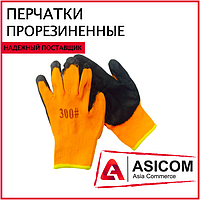 Перчатки рабочие с прорезиненным наладонником #300