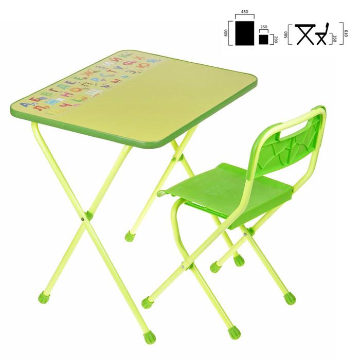 Набор мебели «Алина» складной, цвет салатовый - фото 1