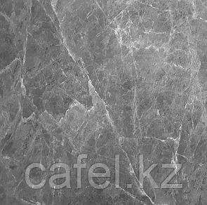 Керамогранит 60х60 серый под мрамор глянцевый