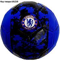 Футбольный мяч Челси Chelsea черно-синий