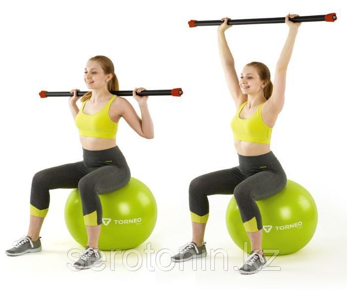 Бодибар фитнес - гимнастическая палка 4кг - фото 3