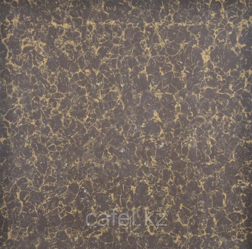 Керамогранит 60х60 под коричневый с золотистыми прожилками