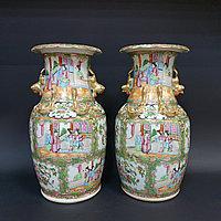 Старинные китайские вазы. Китай, Кантон. XIX век