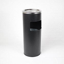 Урна пепельница GL026 (круглая, черная, с ведерком)