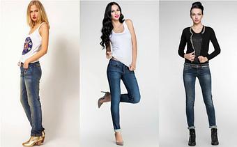 Американские женские джинсы.