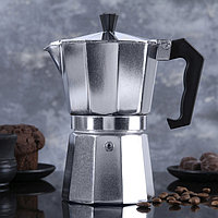 Кофеварка гейзерная, на 6 чашек