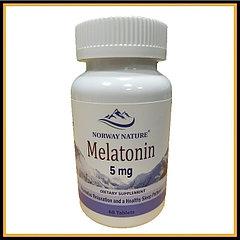 Norway Nature мелатонин 5мг 60таблеток
