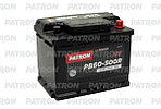 АККУМУЛЯТОР PATRON POWER 12V 60AH 500A ETN 0(R+) 242x175x190mm 13,3kg