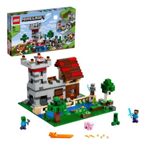 """Конструктор LEGO Minecraft """"Набор для творчества 3.0"""""""