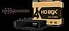 Спутниковый ресивер HD BOX S4K COMBO (UHD)