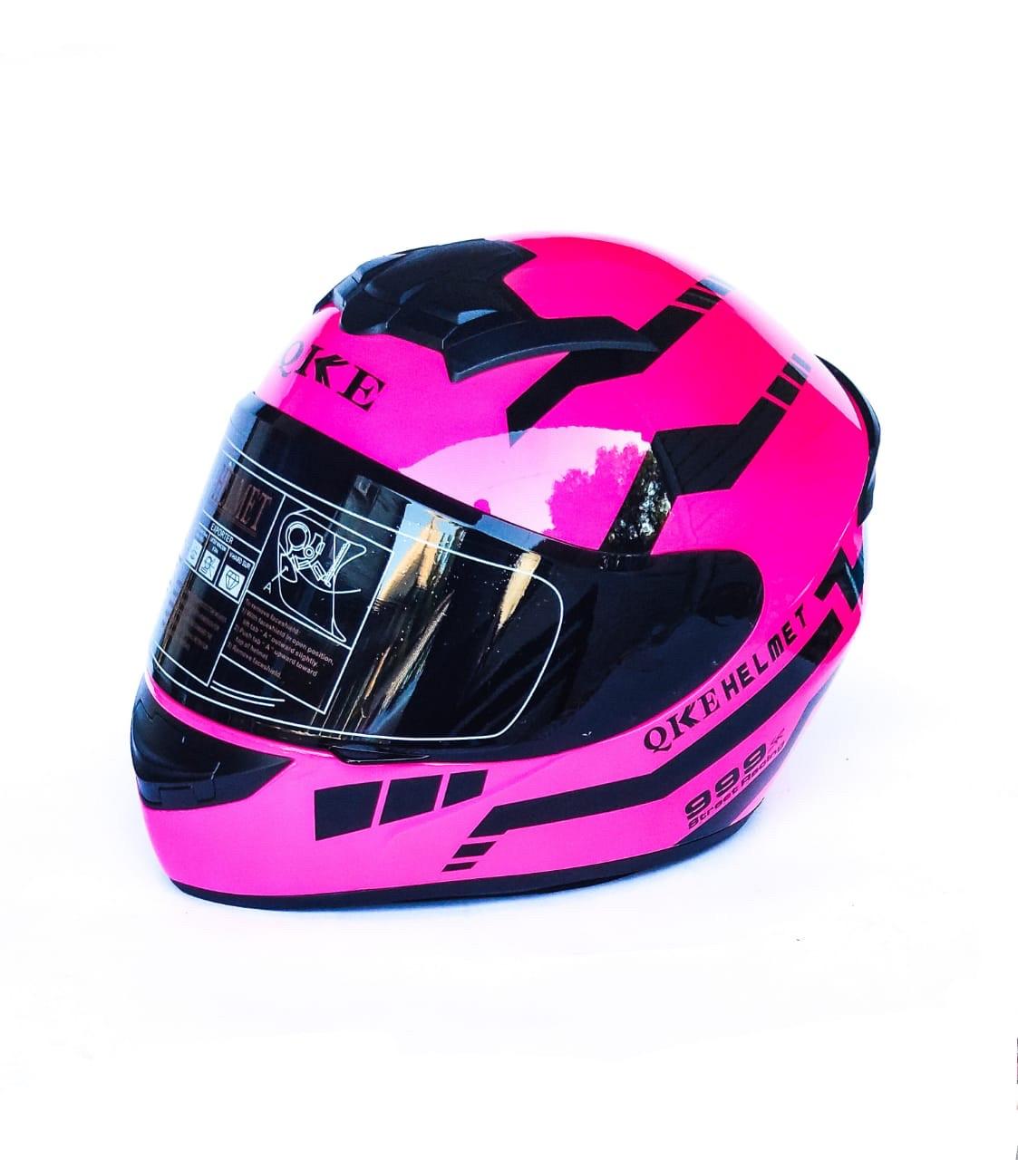 Мотошлем Розовый