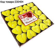 """Набор свечей """"Romantic Love"""" 50 штук (желтые)"""