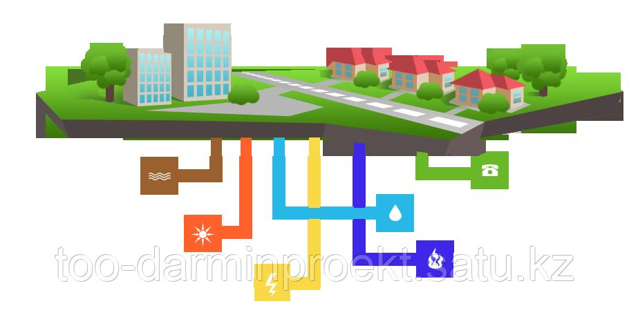 Проектирование водопровода и канализации (ВК).