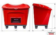 Ящик для песка 0,5 М3 с дозатором и возможностью ввода вилочного захвата