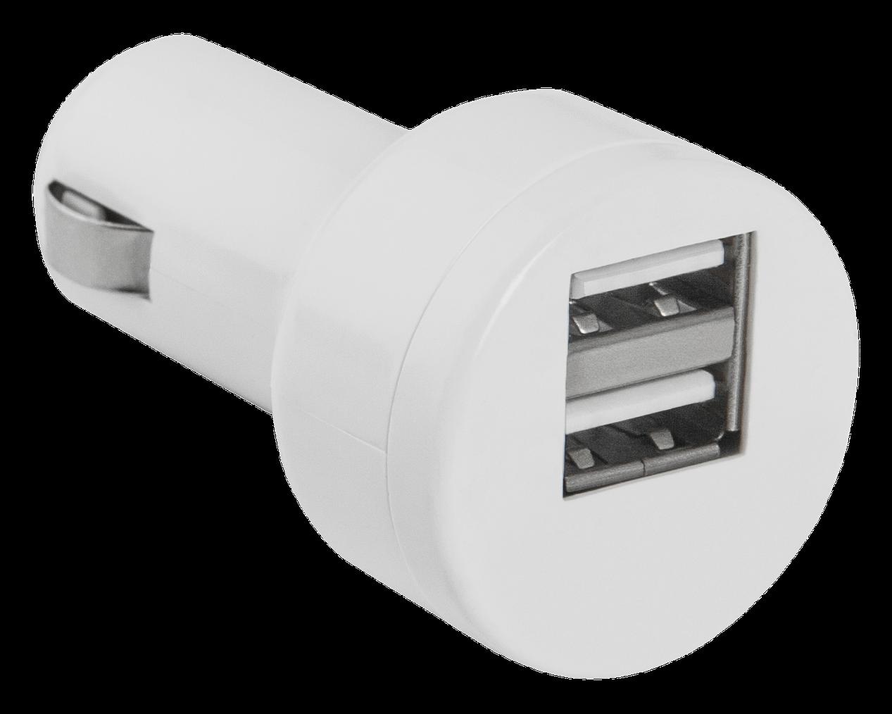 Автомобильный адаптер Defender ECA-15 (2 порта USB, 5V/2А)