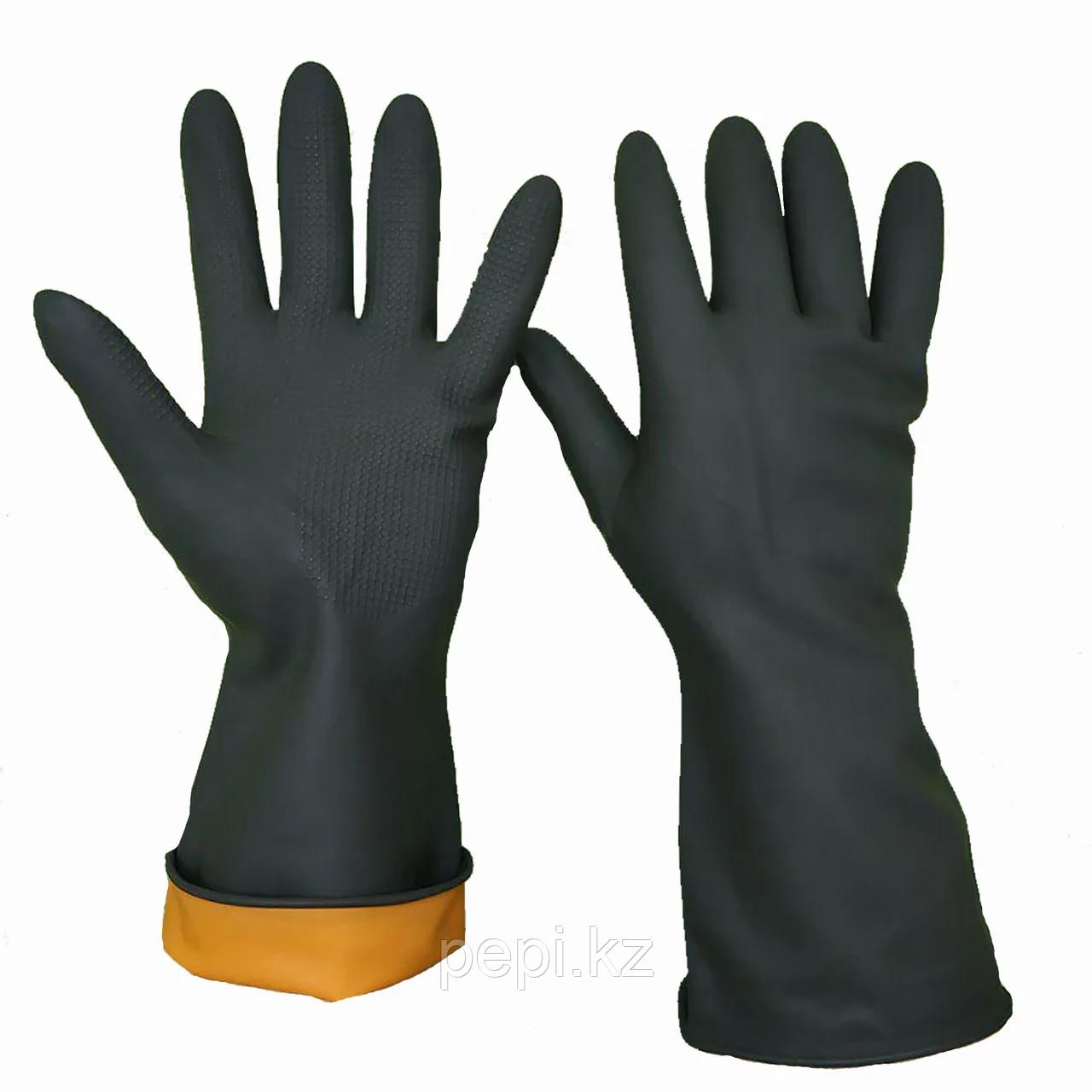 Перчатки КЩС (кислотощелочестойкие) размер ХL