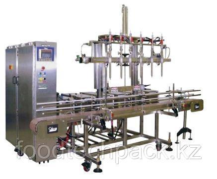 Автоматическая дозировочная машина SERVO/FILL ® для объемного дозирования жидких и очень вязких веществ.