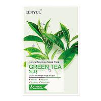 Тканевая маска для лица GREEN TEA Eunyul Natural Moisture Mask Pack
